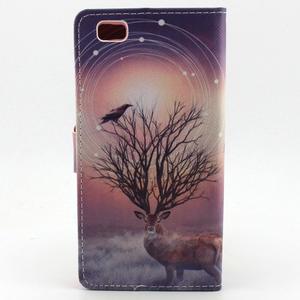 Emotive puzdro na mobil Huawei P8 Lite - mytický jeleň - 2