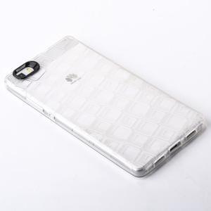 Square gelový obal na Huawei P8 Lite - transparentní - 2
