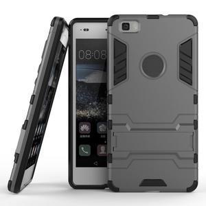 Odolný ochranný kryt na Huawei P8 Lite - šedý - 2