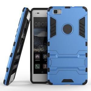 Odolný ochranný kryt na Huawei P8 Lite - světlemodrý - 2