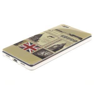 Flexi gelový obal na mobil Huawei P8 Lite - Velká Británie - 2