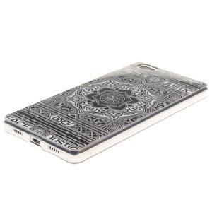 Flexi gelový obal na mobil Huawei P8 Lite - retro mandala - 2