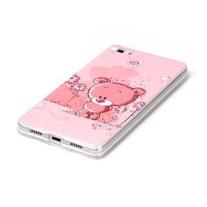 Softy gelový obal na mobil Huawei P8 Lite - medvídek - 2