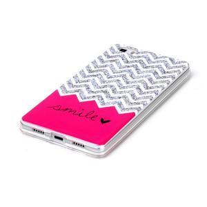 Softy gelový obal na mobil Huawei P8 Lite - smile - 2