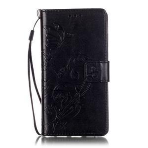 Magicfly PU kožené pouzdro na Huawei P8 Lite - černé - 2