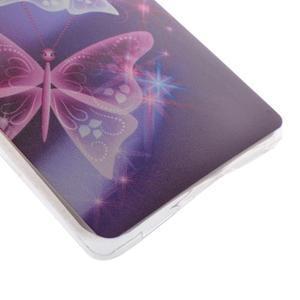 Ultratenký gelový obal na Huawei P9 Lite - kouzelní motýlci - 2