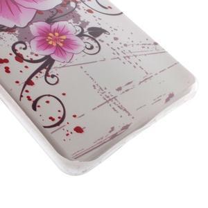 Ultratenký gelový obal na Huawei P9 Lite - květina - 2
