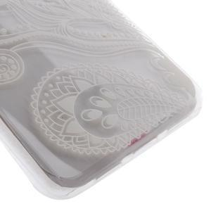 Ultratenký gelový obal na Huawei P9 Lite - elegantní květiny - 2