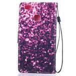 Peněženkové PU kožené pouzdro na Huawei P9 Lite - purple - 2/6