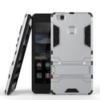 Odolný obal na mobil Huawei P9 Lite - stříbrný - 2/3