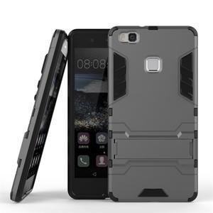 Odolný obal na mobil Huawei P9 Lite - šedý - 2