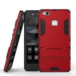 Odolný obal na mobil Huawei P9 Lite - červený - 2