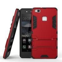 Odolný obal na mobil Huawei P9 Lite - červený - 2/3