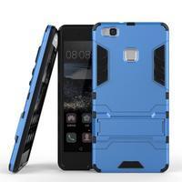 Odolný obal na mobil Huawei P9 Lite - modrý - 2/6