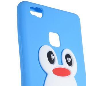 Silikonový obal na mobil Huawei P9 Lite - modrý - 2