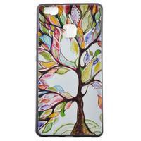 Softy gelový obal na mobil Huawei P9 Lite - barevný strom - 2/5