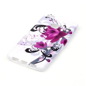 Emotive gelový obal na mobil Huawei P9 Lite - květy - 2