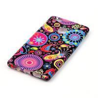 Emotive gelový obal na mobil Huawei P9 Lite - barevné kruhy - 2/4