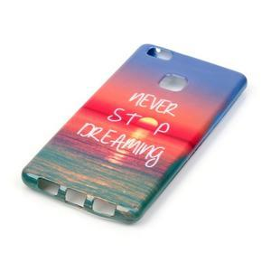 Emotive gelový obal na mobil Huawei P9 Lite - nepřestávej snít - 2