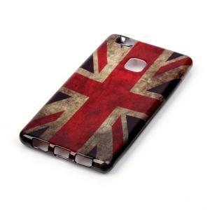 Emotive gelový obal na mobil Huawei P9 Lite - UK vlajka - 2