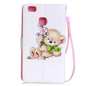Emotive pouzdro na mobil Huawei P9 Lite - medvídek - 2