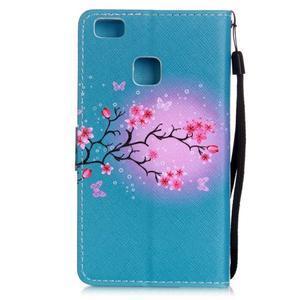 Emotive pouzdro na mobil Huawei P9 Lite - květoucí svěstka - 2