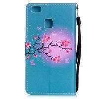 Emotive pouzdro na mobil Huawei P9 Lite - květoucí svěstka - 2/6