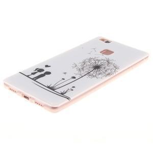 Gelový obal na Huawei P9 Lite - láska - 2