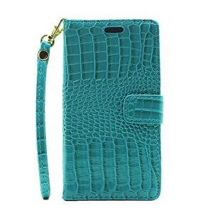 Croco peněženkové pouzdro na mobil Huawei P9 Lite - modré - 2