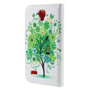 Emotive PU kožené puzdro na Huawei Y5 - zelený strom - 2