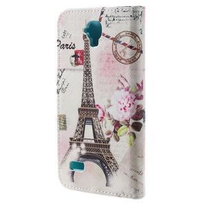 Emotive PU kožené pouzdro na Huawei Y5 - Eiffelova věž - 2