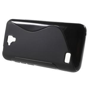 S-line gelový obal na mobil Huawei Y5 a Y560 - černý - 2