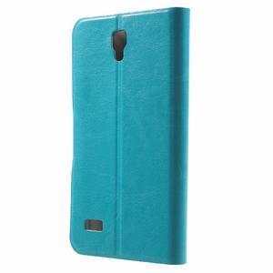 Horse peňaženkové puzdro na mobil Huawei Y5 a Y560 - modré - 2