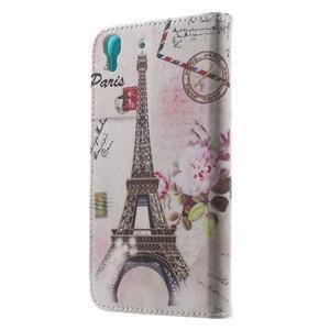Emotive pouzdro na mobil Huawei Y6 - Eiffelova věž - 2