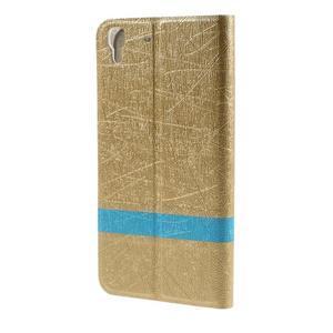 Lines pouzdro na mobil Huawei Y6 - zlaté - 2