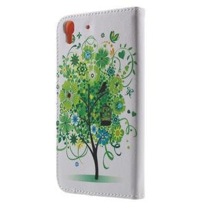 Emotive pouzdro na mobil Huawei Y6 - zelený strom - 2
