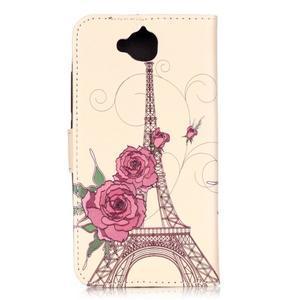Knížkové pouzdro na mobil Huawei Y6 Pro - Eiffelova věž - 2