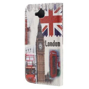 Emotive peňaženkové puzdro na mobil Huawei Y6 Pro - Big Ben - 2