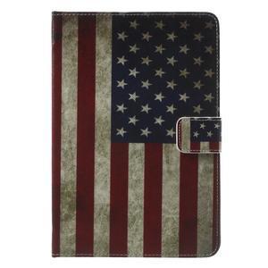 Štýlové puzdro pre iPad mini 4 - US vlajka - 2