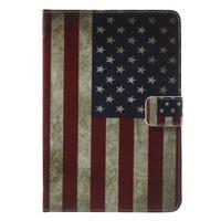 Štýlové puzdro pre iPad mini 4 - US vlajka - 2/7