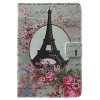 Štýlové puzdro pre iPad mini 4 - Eiffelova veža - 2/7