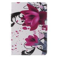 Stylové pouzdro na iPad mini 4 - fialový květ - 2/7