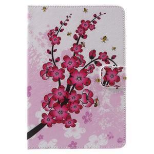 Stylové pouzdro na iPad mini 4 - kvetoucí větvička - 2