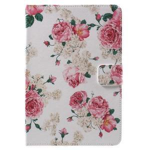Štýlové puzdro pre iPad mini 4 - kvetiny - 2