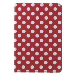Cyrc otočné puzdro pre iPad mini 4 - červené - 2