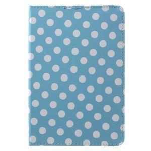 Cyrc otočné pouzdro na iPad mini 4 - světle modré - 2