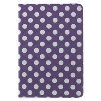 Cyrc otočné puzdro pre iPad mini 4 - fialové - 2/7