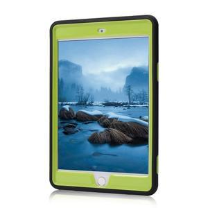 Vysoce odolný silikonový obal na tablet iPad mini 4 - černý/zelený - 2