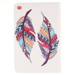 Standy puzdro pre tablet iPad mini 4 - farebná pierka - 2