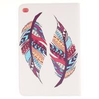 Standy pouzdro na tablet iPad mini 4 - barevná peříčka - 2/7